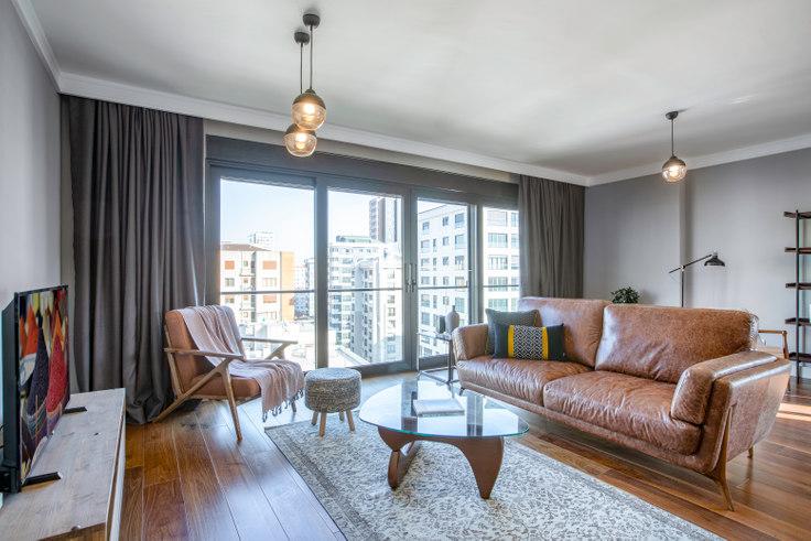 3 bedroom furnished apartment in Köşk - 293 293, Göztepe, Istanbul, photo 1
