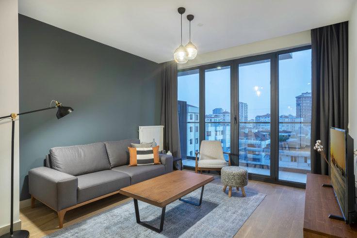 1 bedroom furnished apartment in Kontek Düet - 294 294, Göztepe, Istanbul, photo 1