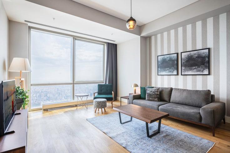 2 bedroom furnished apartment in Metropol İstanbul - 296 296, Doğu Ataşehir, Istanbul, photo 1