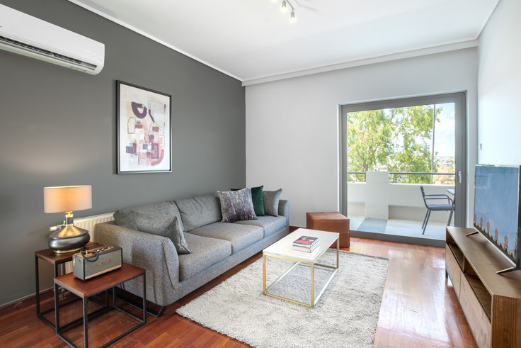 1 bedroom furnished apartment in Ipsilantou IV 688, Neo Psychiko, Athens, photo 1