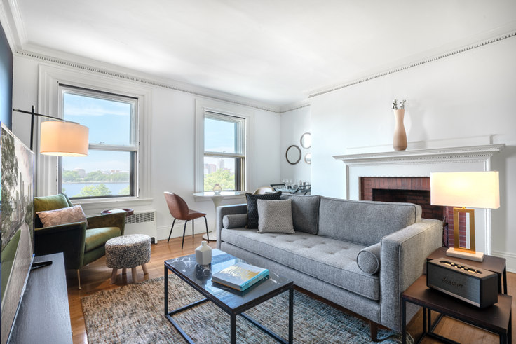 1 bedroom furnished apartment in 478 Beacon St 93, Back Bay, Boston, photo 1