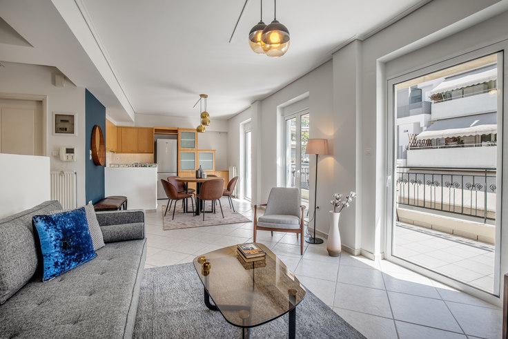 3 bedroom furnished apartment in Konstantinou Neri I 689, Mets - Kallimarmaro, Athens, photo 1