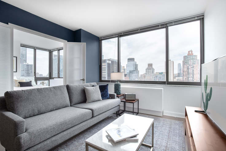 2 bedroom furnished apartment in The Westport, 500 W 56th St 289, Midtown West, New York, photo 1