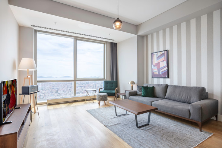 2 bedroom furnished apartment in Metropol İstanbul - 298 298, Doğu Ataşehir, Istanbul, photo 1