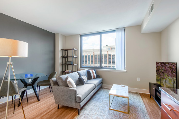 1 bedroom furnished apartment in Meridian at Mount Vernon Triangle, 425 L St NW 52, Mount Vernon, Washington D.C., photo 1