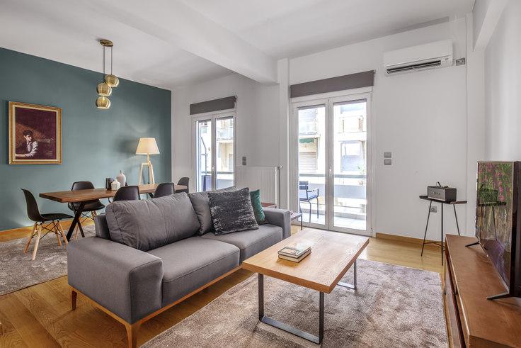 2 bedroom furnished apartment in Aristodimou 692, Kolonaki, Athens, photo 1