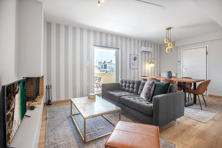 2 bedroom furnished apartment in Agias Eleousis 695, Marousi, Athens, photo 1