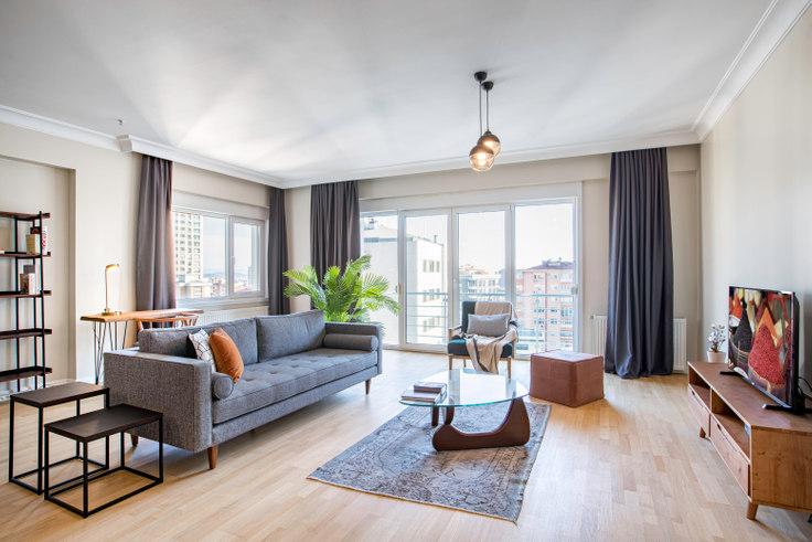 4 bedroom furnished apartment in Sevgili Residence - 300 300, Göztepe, Istanbul, photo 1