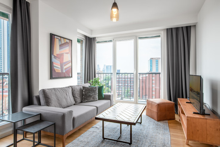 1 bedroom furnished apartment in Mint - 303 303, Çağlayan, Istanbul, photo 1