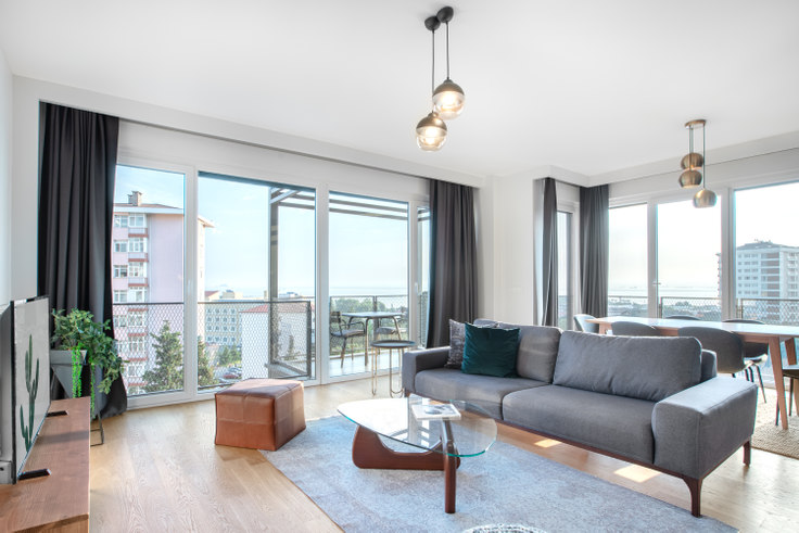 3 bedroom furnished apartment in Samibey - 304 304, Fenerbahçe, Istanbul, photo 1