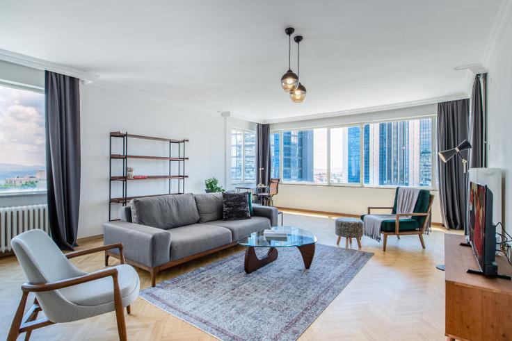 3 bedroom furnished apartment in Demet - 305 305, Etiler, Istanbul, photo 1