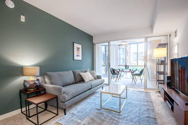 1 bedroom furnished apartment in Meridian at Gallery Place, 450 Massachusetts Avenue NW 59, Mount Vernon, Washington D.C., photo 1