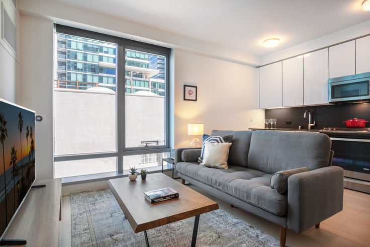 Studio furnished apartment in 340 Fremont St 143, Rincon Hill, San Francisco Bay Area, photo 1