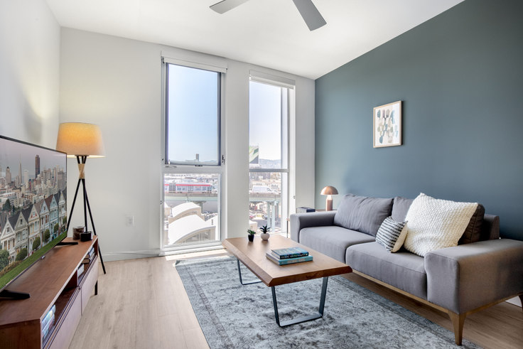 1 bedroom furnished apartment in 855 Brannan St 147, SoMa, San Francisco Bay Area, photo 1