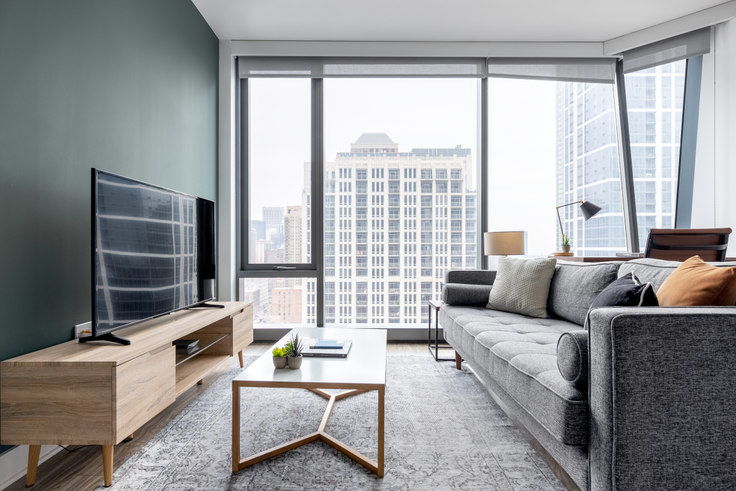 1 bedroom furnished apartment in Paragon, 1326 S Michigan Ave 84, South Loop, Chicago, photo 1