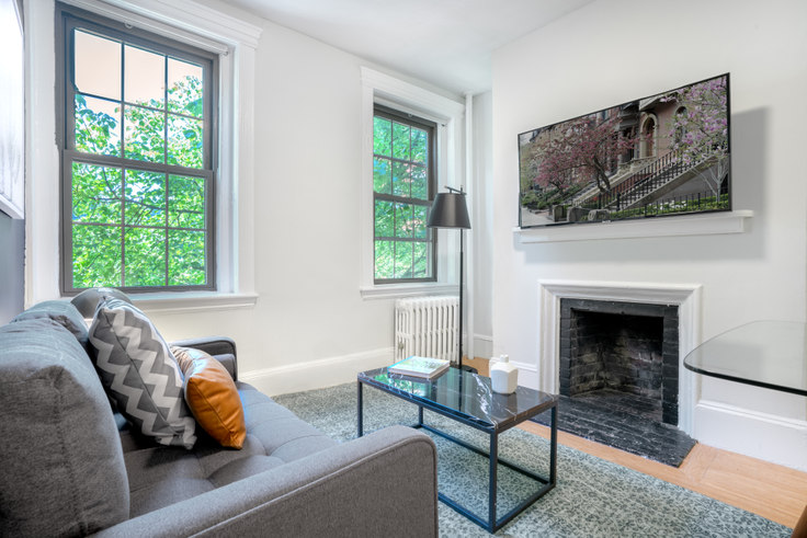 1 bedroom furnished apartment in 85 Myrtle St 103, Beacon Hill, Boston, photo 1