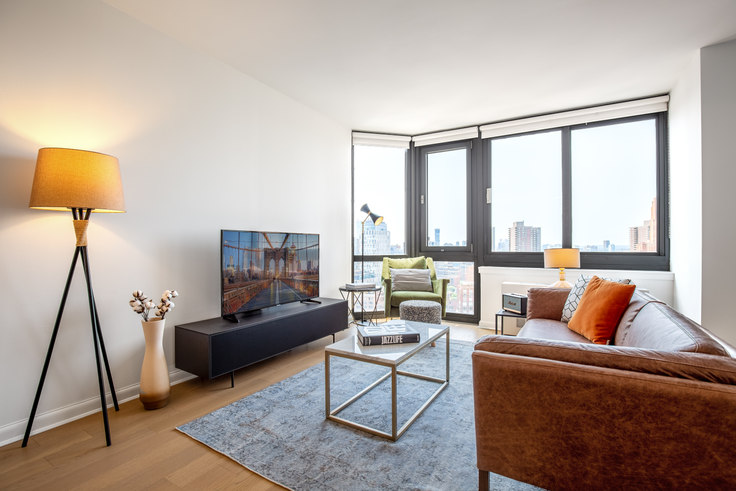 Studio furnished apartment in Tribeca Tower, 105 Duane St 312, Tribeca, New York, photo 1