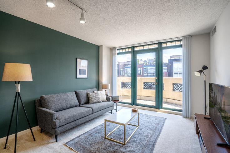 1 bedroom furnished apartment in 1301 Thomas Circle, 1301 M Street NW 63, Logan Circle, Washington D.C., photo 1