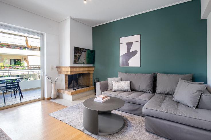 2 bedroom furnished apartment in Lesvou I 714, Vrilissia, Athens, photo 1
