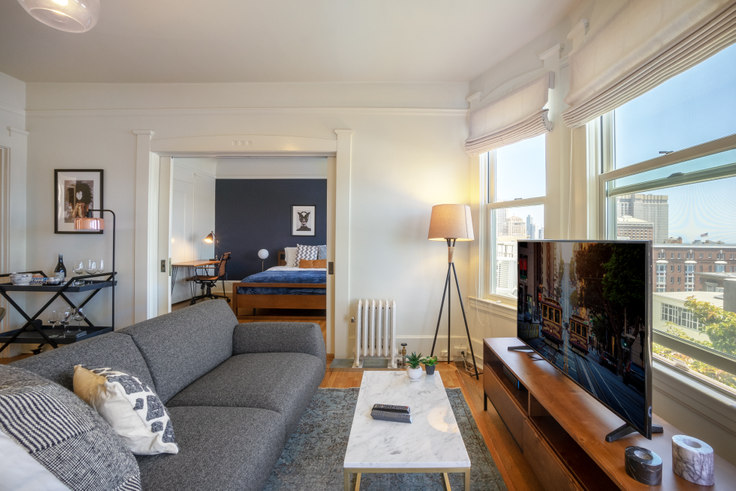 1 bedroom furnished apartment in 1145 Pine St 158, Nob Hill, San Francisco Bay Area, photo 1