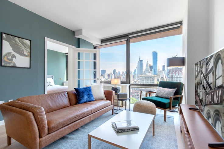 1 bedroom furnished apartment in 1 Union Sq S 315, Flatiron, New York, photo 1