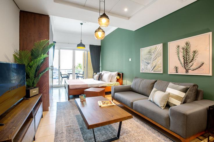 Studio furnished apartment in Lake View Studio 466, Lake View, Dubai, photo 1