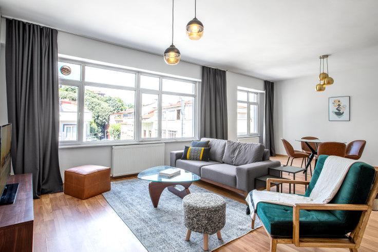 2 bedroom furnished apartment in Erener - 316 316, Bebek, Istanbul, photo 1