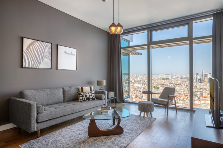 1 bedroom furnished apartment in Emaar Square - 317 317, Unalan, Istanbul, photo 1