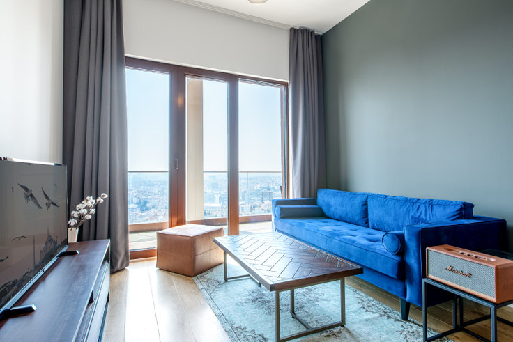 1 bedroom furnished apartment in Nef163 - 322 322, Levent, Istanbul, photo 1