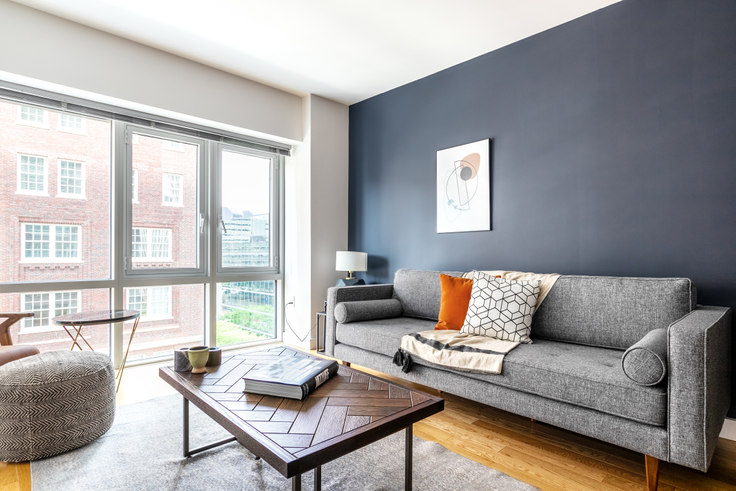1 bedroom furnished apartment in One Back Bay, 135 Clarendon St 118, Back Bay, Boston, photo 1