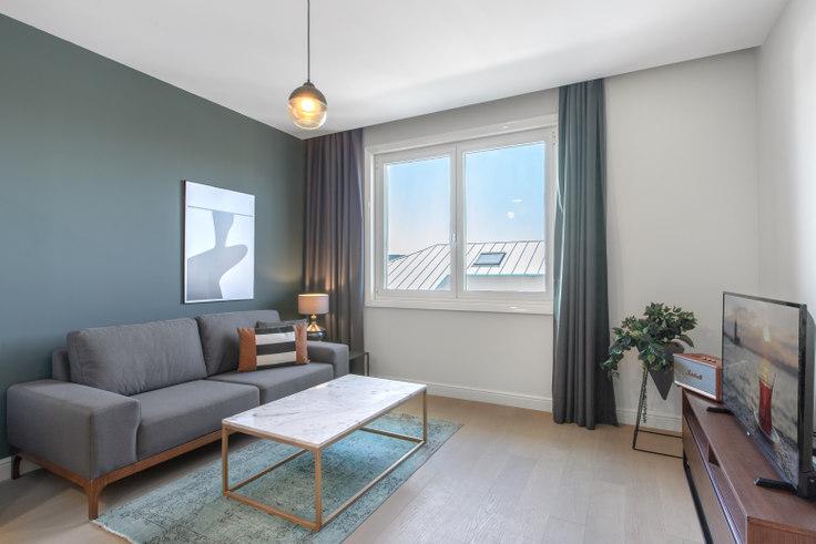 2 bedroom furnished apartment in Larus Loft - 328 328, Göktürk, Istanbul, photo 1
