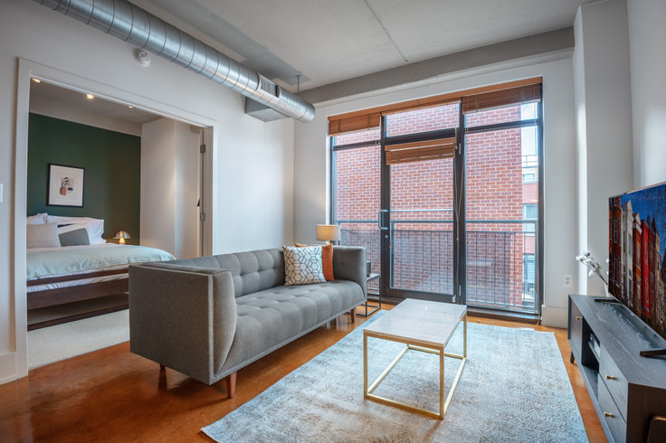 1 bedroom furnished apartment in The Hudson, 1425 P St NW 69, Logan Circle, Washington D.C., photo 1