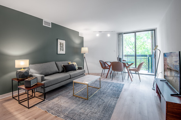 1 bedroom furnished apartment in The Remington, 601 24th St NW 75, Foggy Bottom, Washington D.C., photo 1