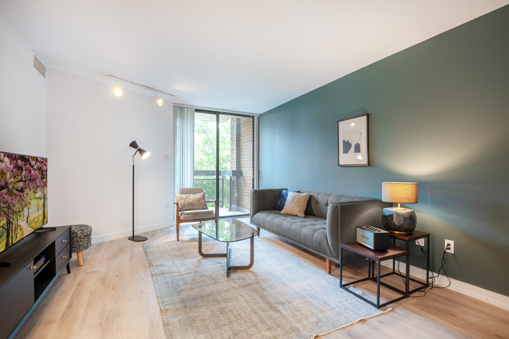 1 bedroom furnished apartment in The Remington, 601 24th St NW 78, Foggy Bottom, Washington D.C., photo 1