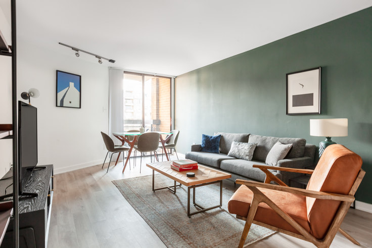 1 bedroom furnished apartment in The Remington, 601 24th St NW 81, Foggy Bottom, Washington D.C., photo 1