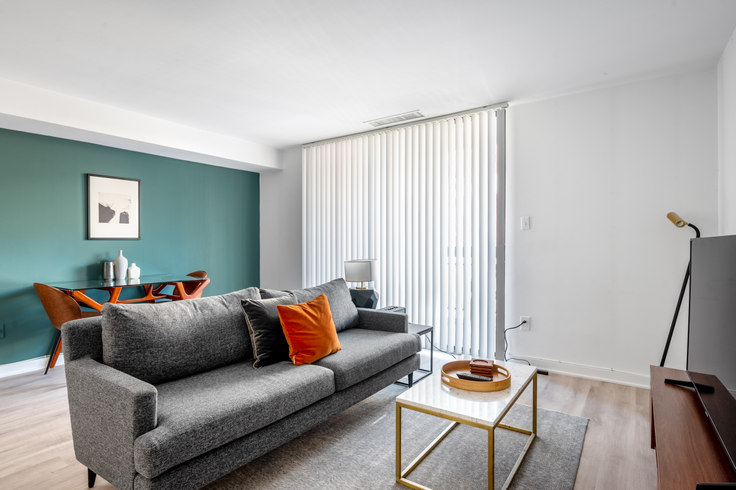 1 bedroom furnished apartment in The Remington, 601 24th St NW 83, Foggy Bottom, Washington D.C., photo 1