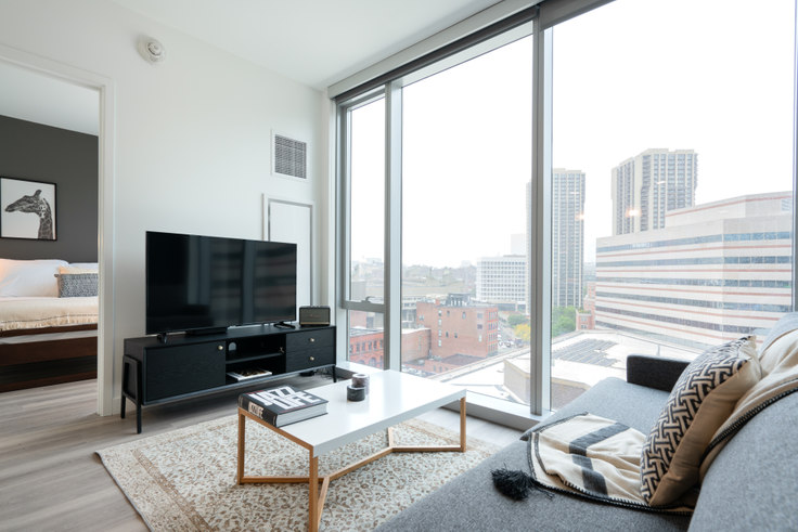 1 bedroom furnished apartment in Hub50House, 50 Causeway St 119, North Station, Boston, photo 1
