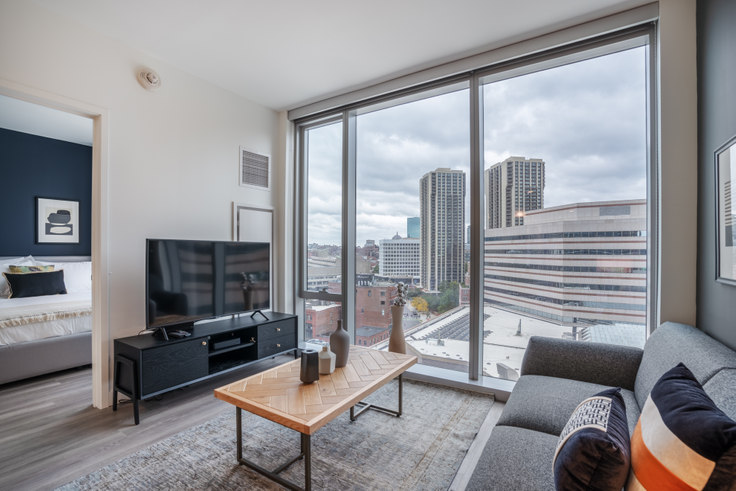 1 bedroom furnished apartment in Hub50House, 50 Causeway St 122, North Station, Boston, photo 1