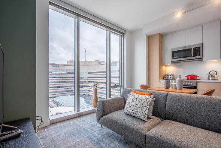 Studio furnished apartment in Hub50House, 50 Causeway St 124, North Station, Boston, photo 1