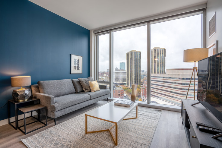 1 bedroom furnished apartment in Hub50House, 50 Causeway St 127, North Station, Boston, photo 1