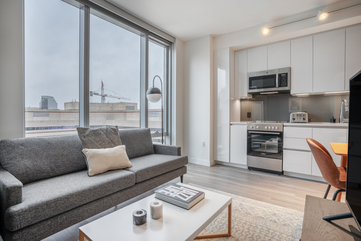 Studio furnished apartment in Hub50House, 50 Causeway St 128, North Station, Boston, photo 1