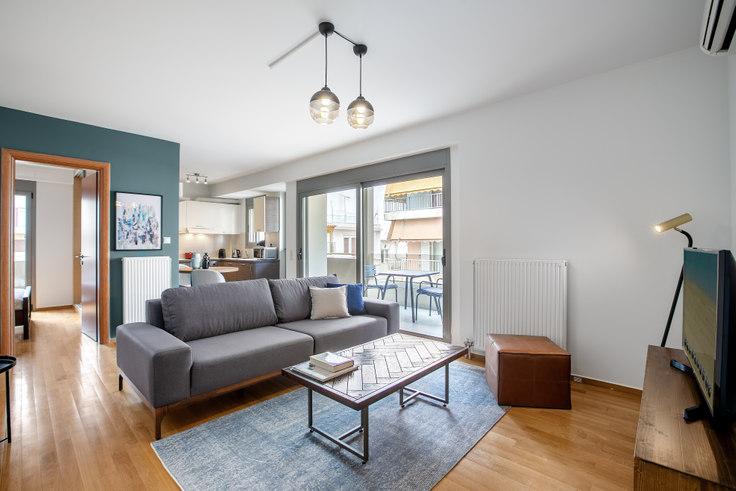 1 bedroom furnished apartment in Chalkidonos 729, Vasilissis Sofias Avenue, Athens, photo 1