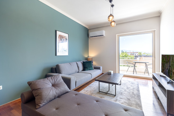 2 bedroom furnished apartment in Acharnon 732, Kifisia, Athens, photo 1