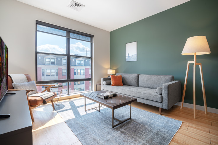1 bedroom furnished apartment in West Square, 320 D St 138, South Boston, Boston, photo 1