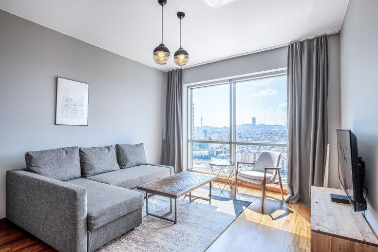 1 bedroom furnished apartment in Dorapark - 337 337, Ümraniye, Istanbul, photo 1