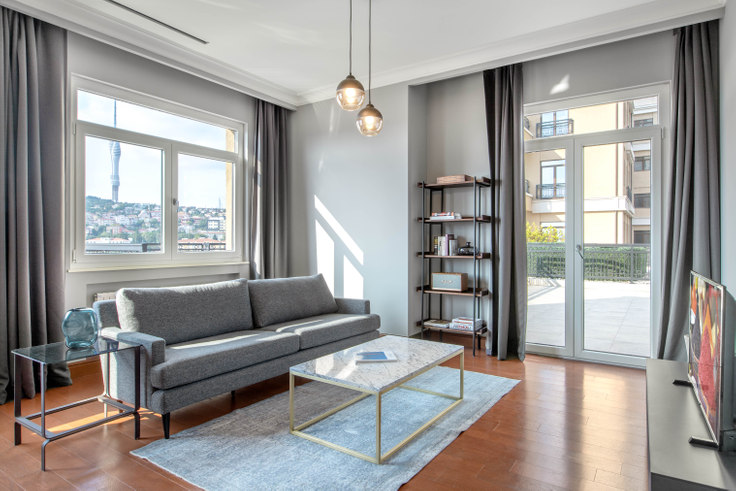 2 bedroom furnished apartment in Emaar Square - 338 338, Unalan, Istanbul, photo 1