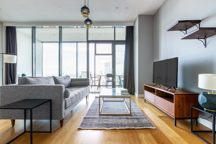 1 bedroom furnished apartment in Istanbloom - 341 341, Esentepe, Istanbul, photo 1