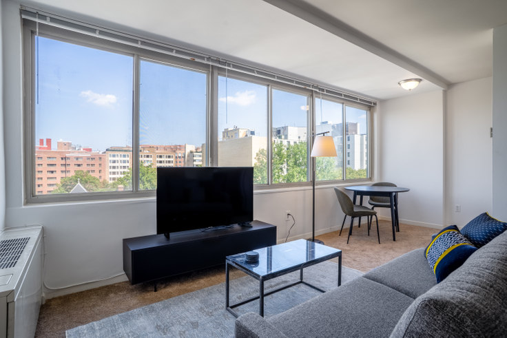 Studio furnished apartment in The 925 Apartments, 925 25th St 96, Foggy Bottom, Washington D.C., photo 1