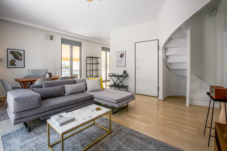 3 bedroom furnished apartment in Kritonos 741, Pangrati, Athens, photo 1