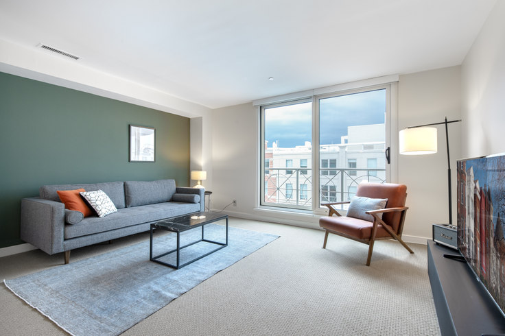 1 bedroom furnished apartment in The Lansburgh, 425 8th St NW 99, Penn Quarter, Washington D.C., photo 1